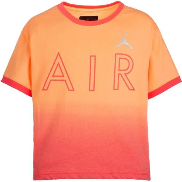 Jordan Girls' Air Ombre Ringer Short Sleeve T-Shirt product image