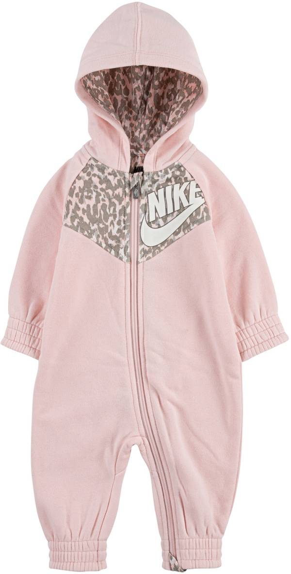 Nike Infant Girls' Leopard Coveralls product image