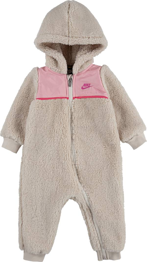Nike Infant Lurex Sherpa Hooded Long Sleeve Coverall product image