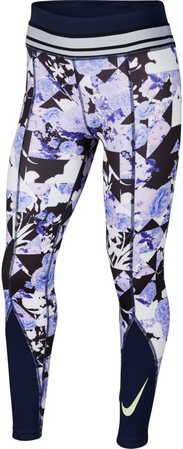 Nike One Girls' Printed Training Tights product image