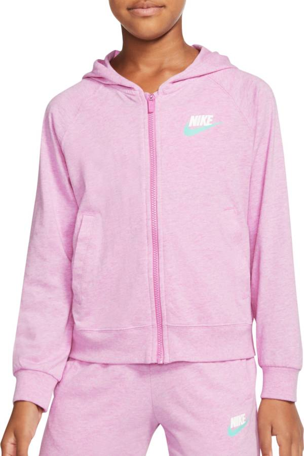Nike Girls' Sportswear Full Zip Hoodie product image