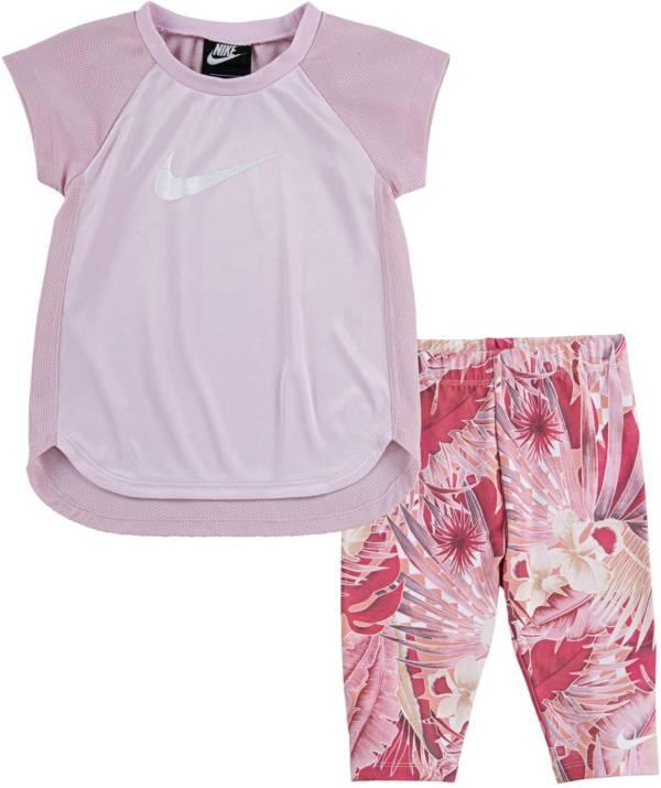 Nike Toddler Girls' Dri-FIT Raglan Tunic and Leggings Set product image