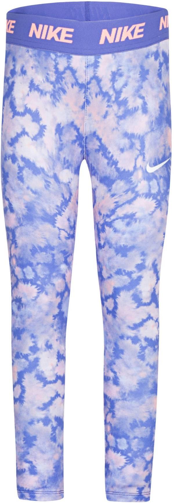 Nike Little Girls' Dri-FIT Rainbow Wash Leggings product image