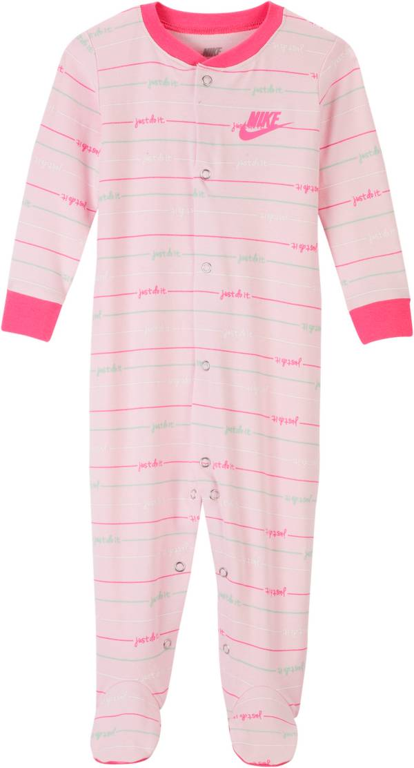 Nike Infant Girls' Script Footed Coveralls product image