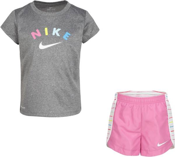 Nike Girls' Sprinter T-Shirt and Running Shorts Set product image