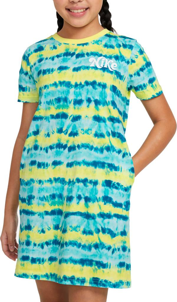 Nike Girls' Tie-Dye T-Shirt Dress product image
