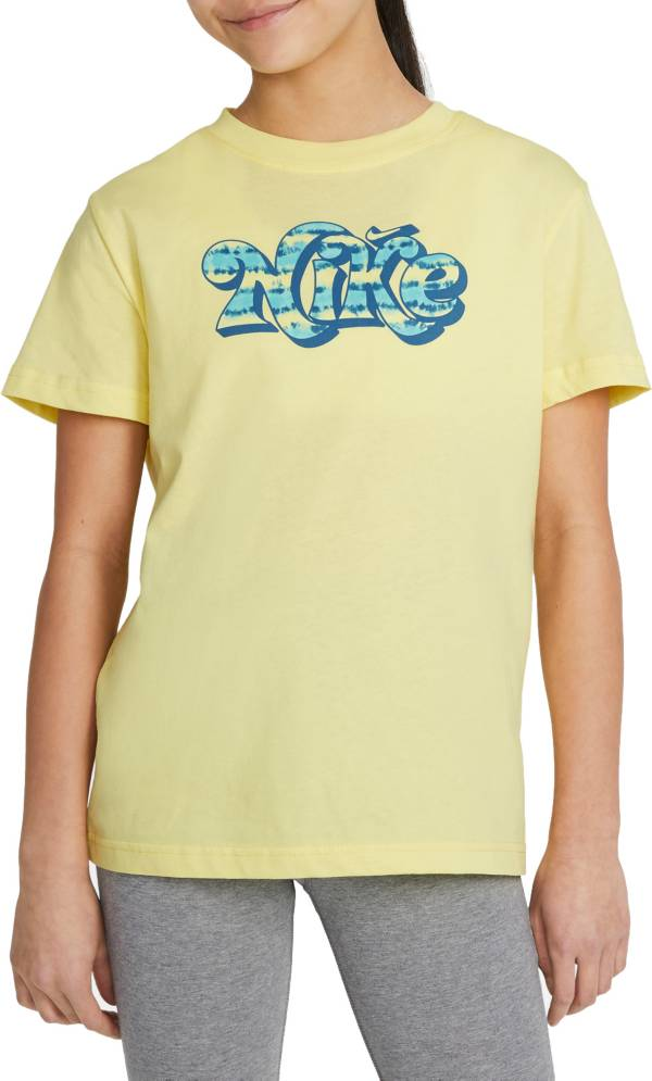 Nike Girls' Tie-Dye Graphic T-Shirt product image