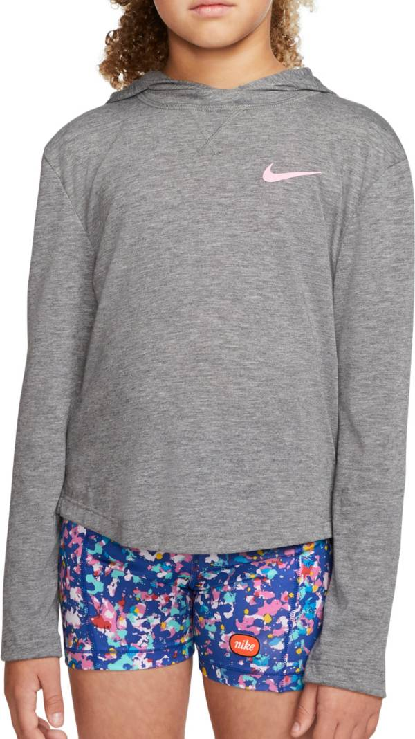 Nike Girls' Trophy Dri-FIT Hooded Long Sleeve Top product image