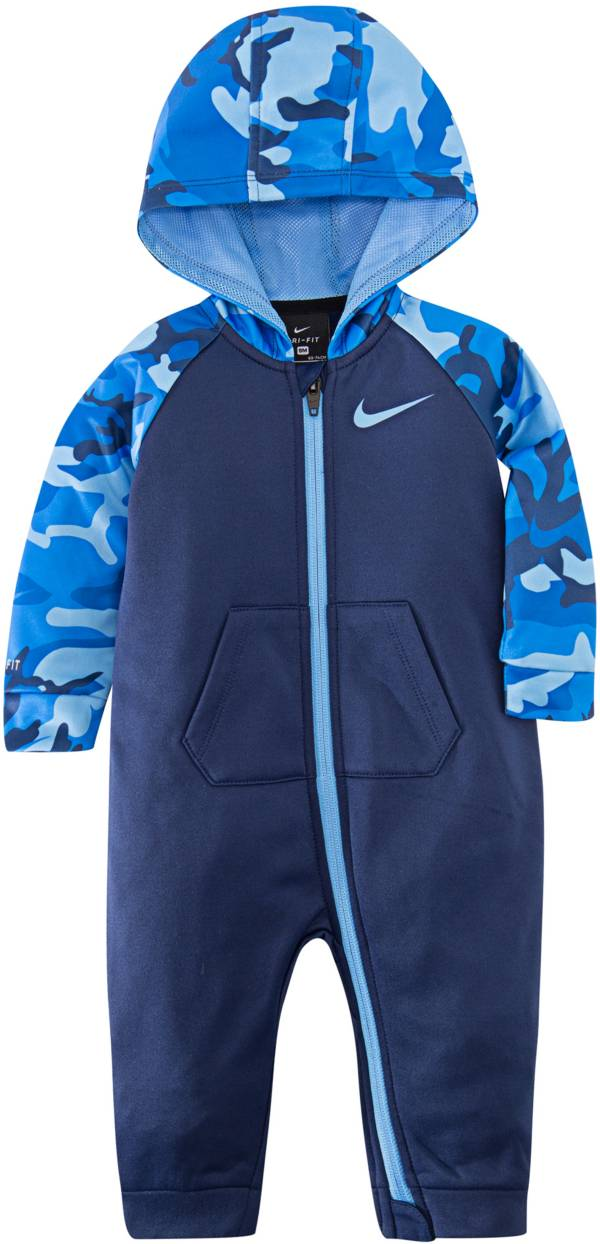 Nike Infant Boys' Therma Camo Full-Zip Coveralls product image