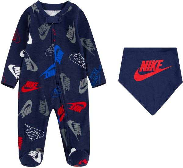 Nike Infant Boys' Futura Toss Coveralls and Bib Set product image