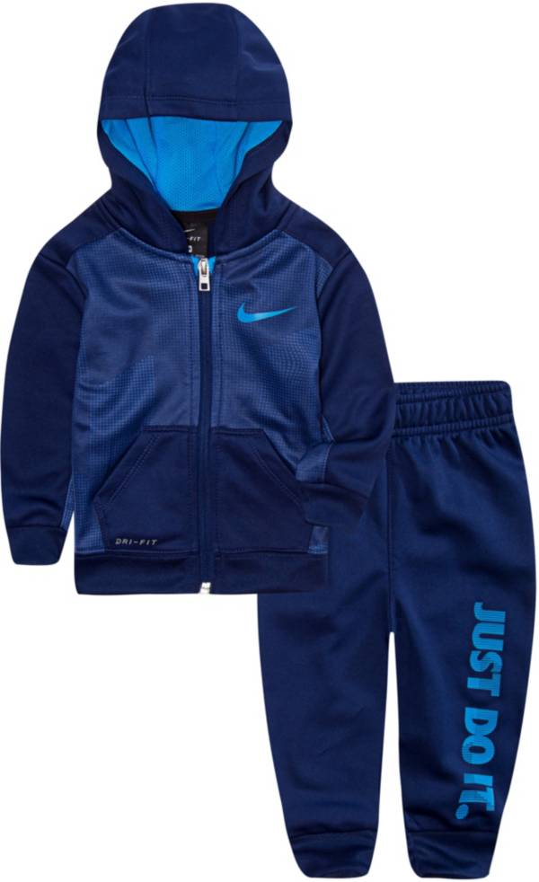Nike Infant Boys' Therma Full Zip Hoodie and Joggers Set product image