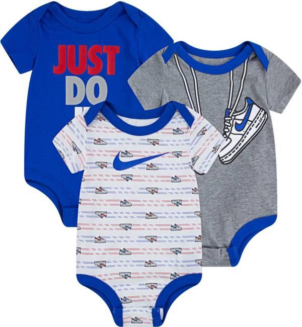 Nike Infant Boys' Short Sleeve Bodysuit 3 Pack product image