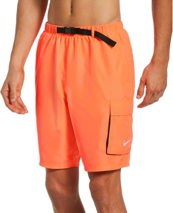 """Nike Men's Belted Packable 9"""" Volley Swim Trunks product image"""