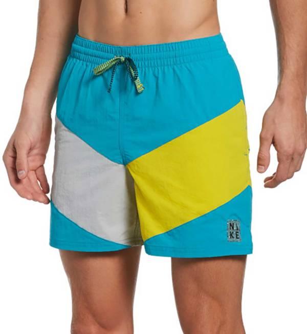 "Nike Men's Multi Logo Vortex 5"" Volley Swim Trunks product image"