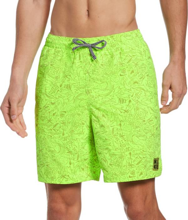"Nike Men's Shark Lap 7"" Volley Swim Trunks product image"