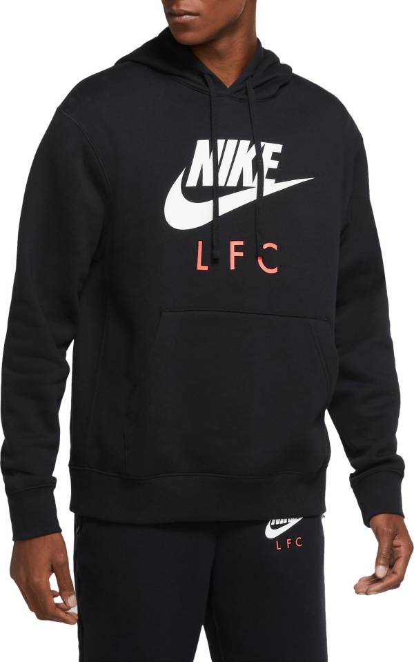 Nike Men's Liverpool Club Black Pullover Hoodie product image