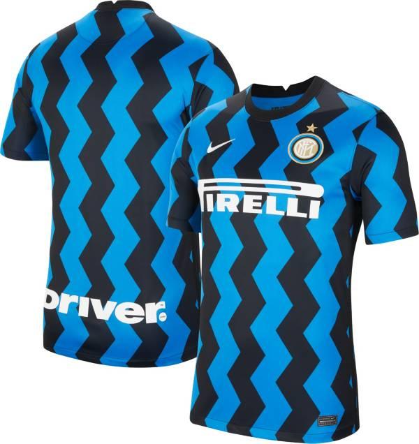 Nike Men S Inter Milan 20 Breathe Stadium Home Replica Jersey Dick S Sporting Goods