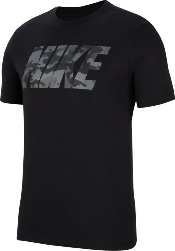 Nike Men's Dri-FIT Camo Logo Graphic Training T-Shirt product image