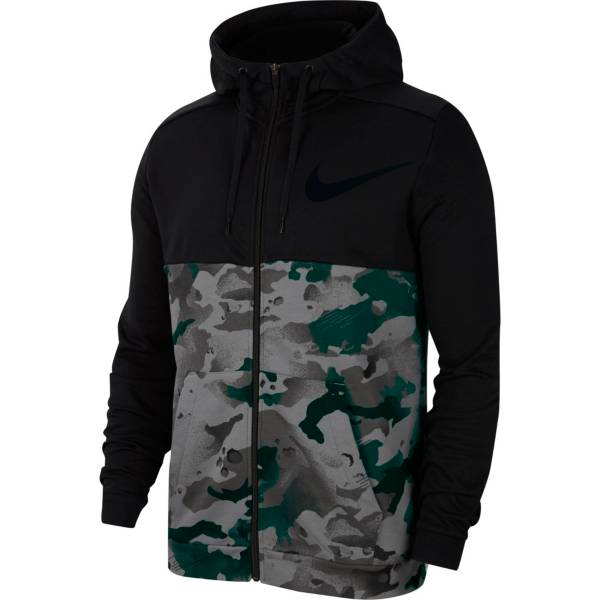 Nike Men's Dri-FIT Full-Zip Camo Training Hoodie product image