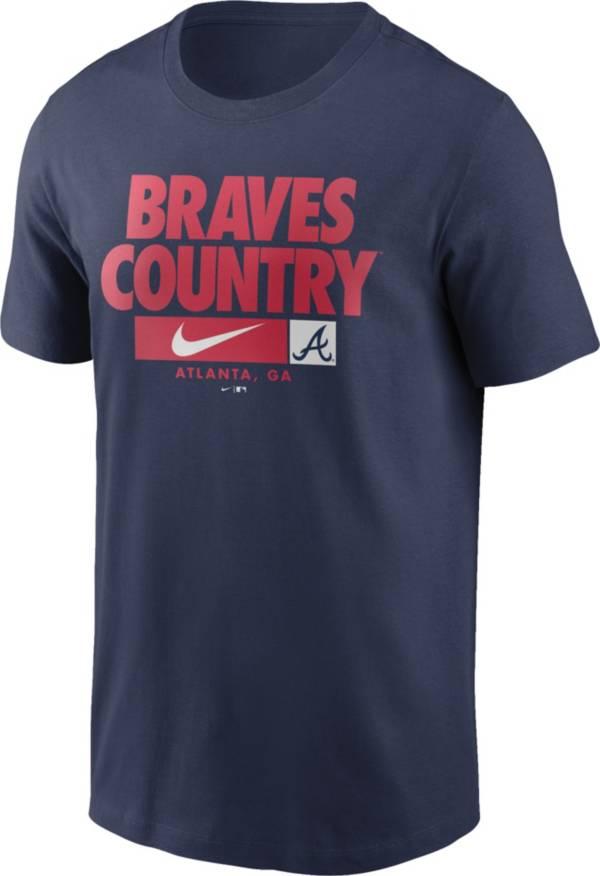Nike Men's Atlanta Braves Navy Local Nickname Legend T-Shirt product image
