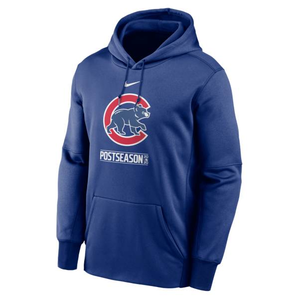 Nike Men's 2020 Postseason Chicago Cubs Pullover Hoodie product image