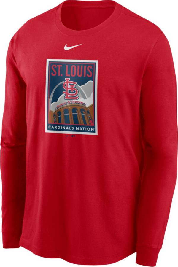 Nike Men's St. Louis Cardinals Red Icon Long Sleeve T-Shirt product image