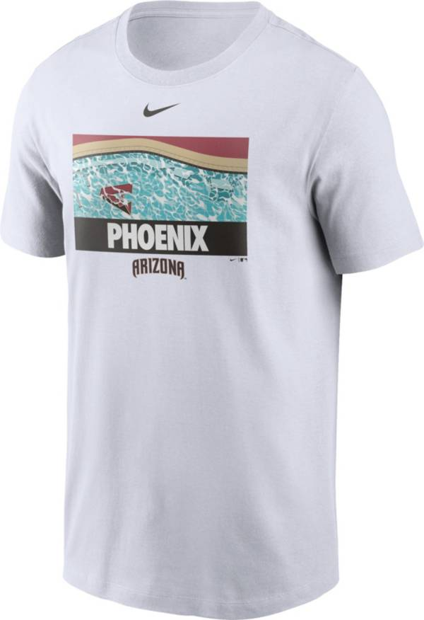 Nike Men's Arizona Diamondbacks White Local Icon Legend T-Shirt product image