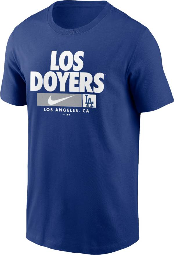 Nike Men's Los Angeles Dodgers Blue Local Nickname Legend T-Shirt product image