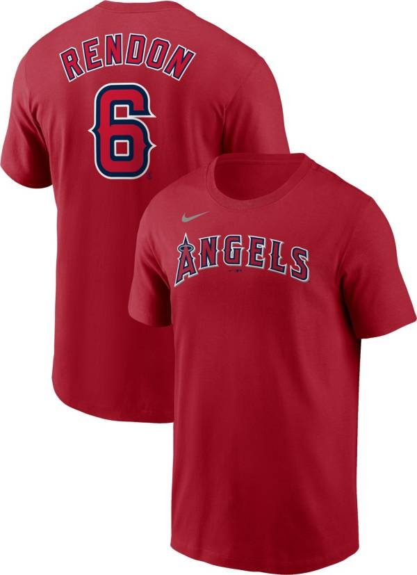 Nike Men's Los Angeles Angels Anthony Rendon #6 Red T-Shirt product image