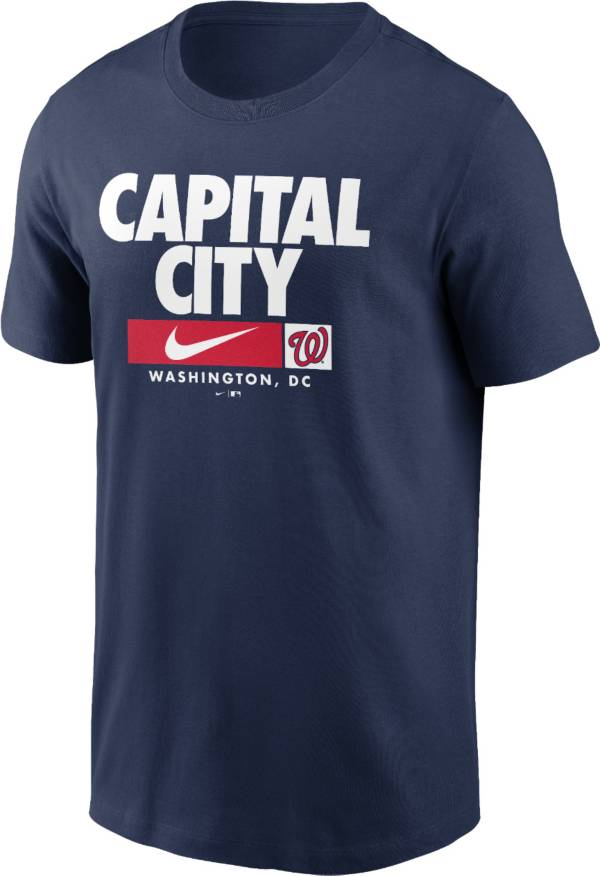 Nike Men's Washington Nationals Navy Local Nickname Legend T-Shirt product image