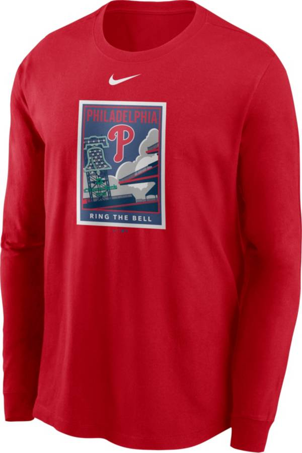 Nike Men's Philadelphia Phillies Red Icon Long Sleeve T-Shirt product image
