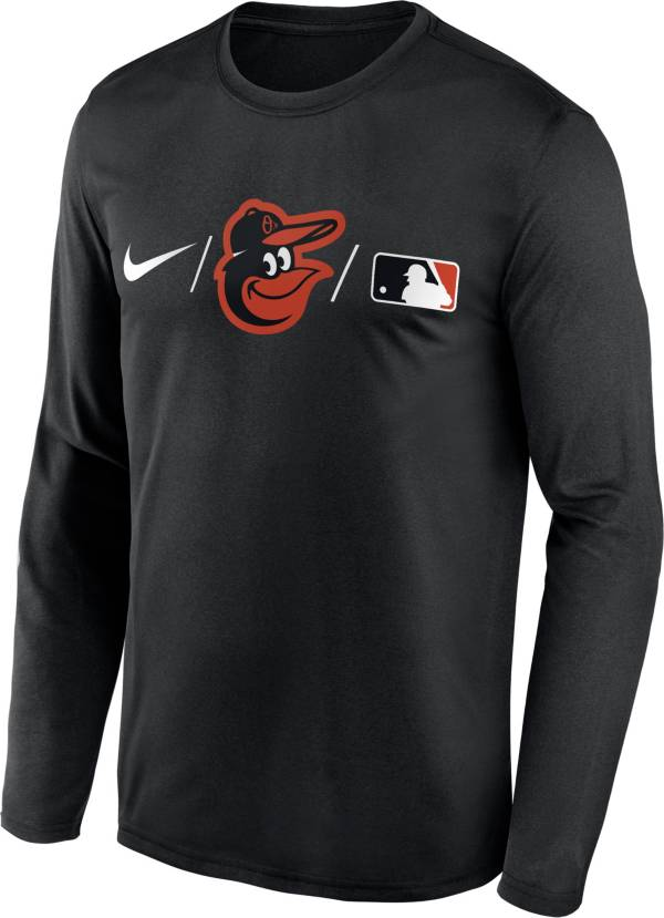 Nike Men's Baltimore Orioles Black Authentic Collection Legend Long Sleeve T-Shirt product image