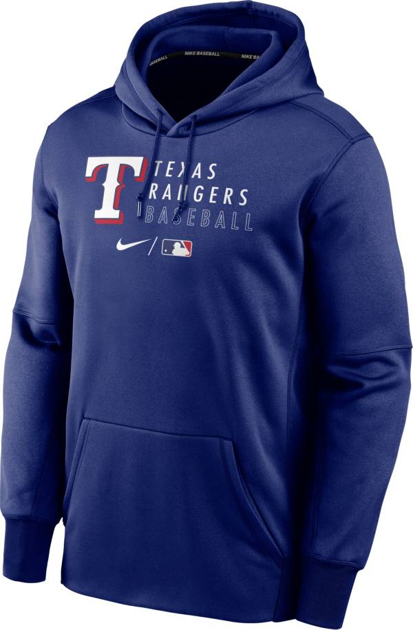Nike Men's Texas Rangers AC Therma-FIT Royal Hoodie product image