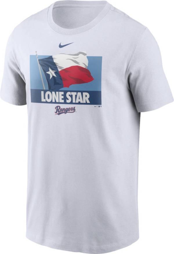 Nike Men's Texas Rangers White Local Icon Legend T-Shirt product image