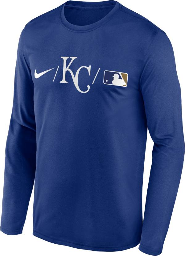 Nike Men's Kansas City Royals Blue Authentic Collection Legend Long Sleeve T-Shirt product image