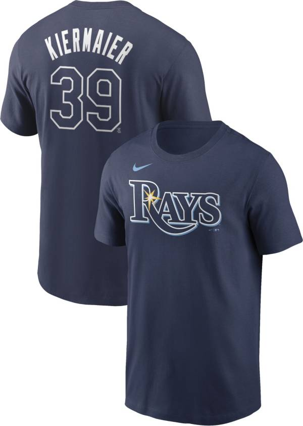 Nike Men's Tampa Bay Rays Kevin Kiermaier #39 Navy T-Shirt product image