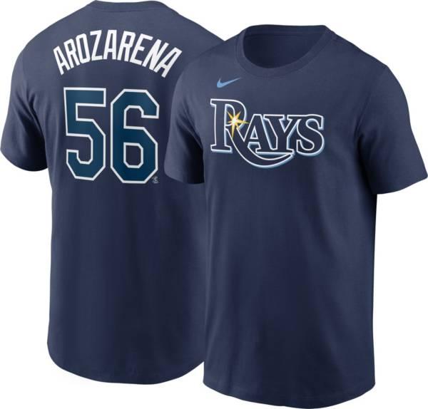 Nike Men's Tampa Bay Rays Randy Arozarena #56 Navy T-Shirt product image