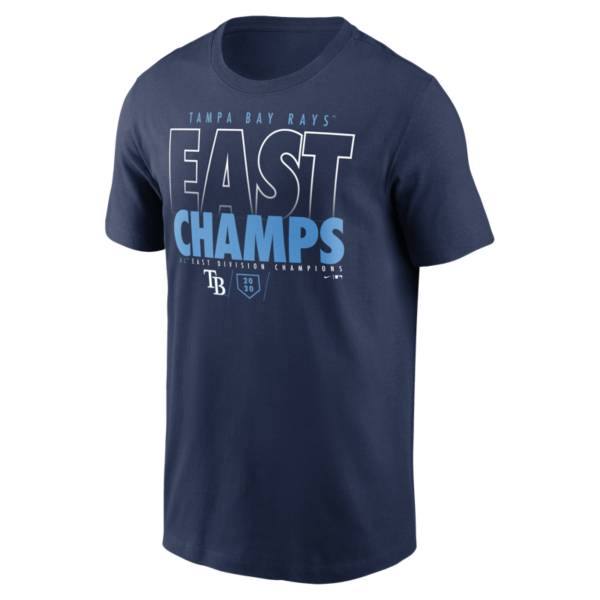 Nike Men's 2020 Division Champions Tampa Bay Rays T-Shirt product image