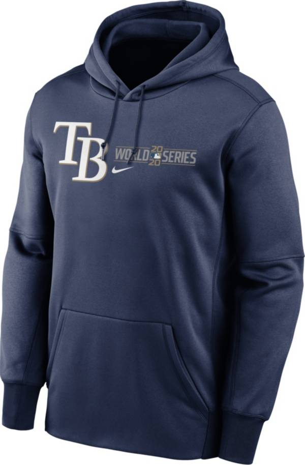 Nike Men's 2020 World Series Authentic Collection Tampa Bay Rays Navy Pullover Hoodie product image