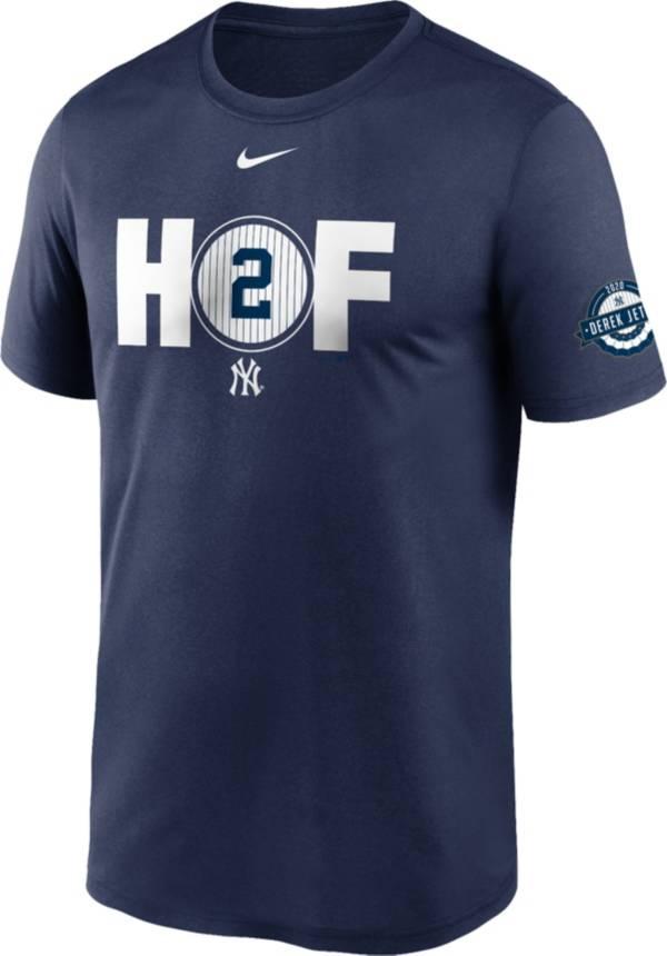 Nike Men's New York Yankees Derek Jeter 2020 Hall of Fame Navy T-Shirt product image