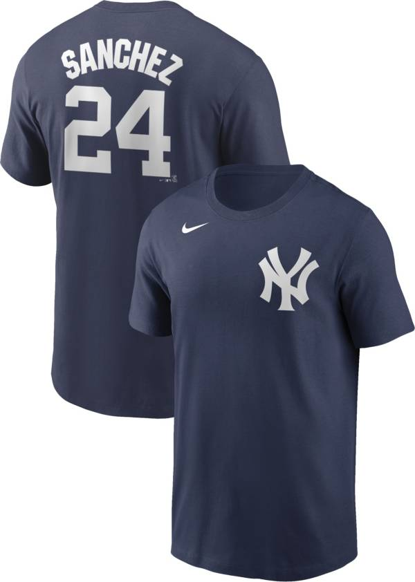 Nike Men's New York Yankees Gary Sanchez #24 Navy T-Shirt product image