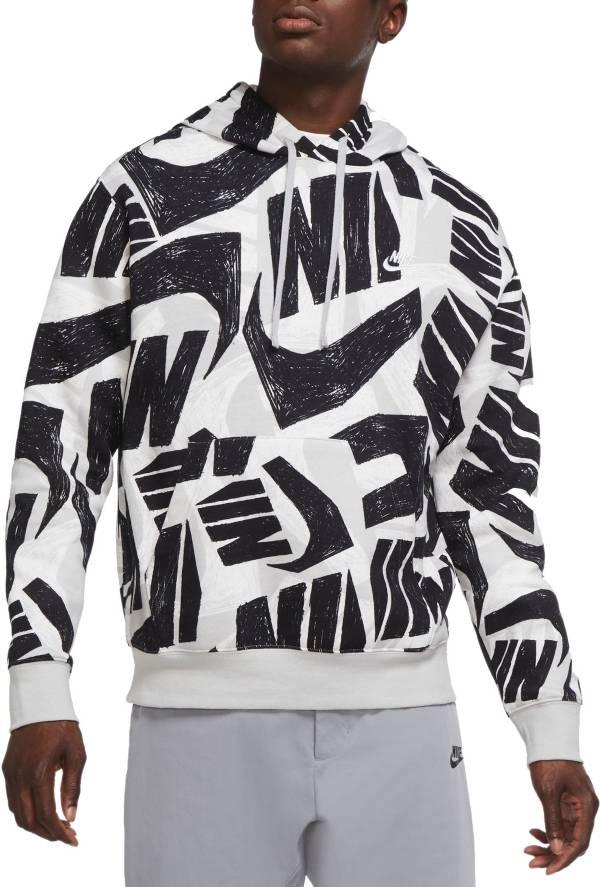 Nike Men's Sportswear Allover Print Futura Club Pullover Hoodie product image
