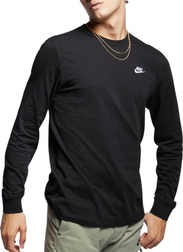 Nike Men's Sportswear Embroidered Futura Long Sleeve T-Shirt product image