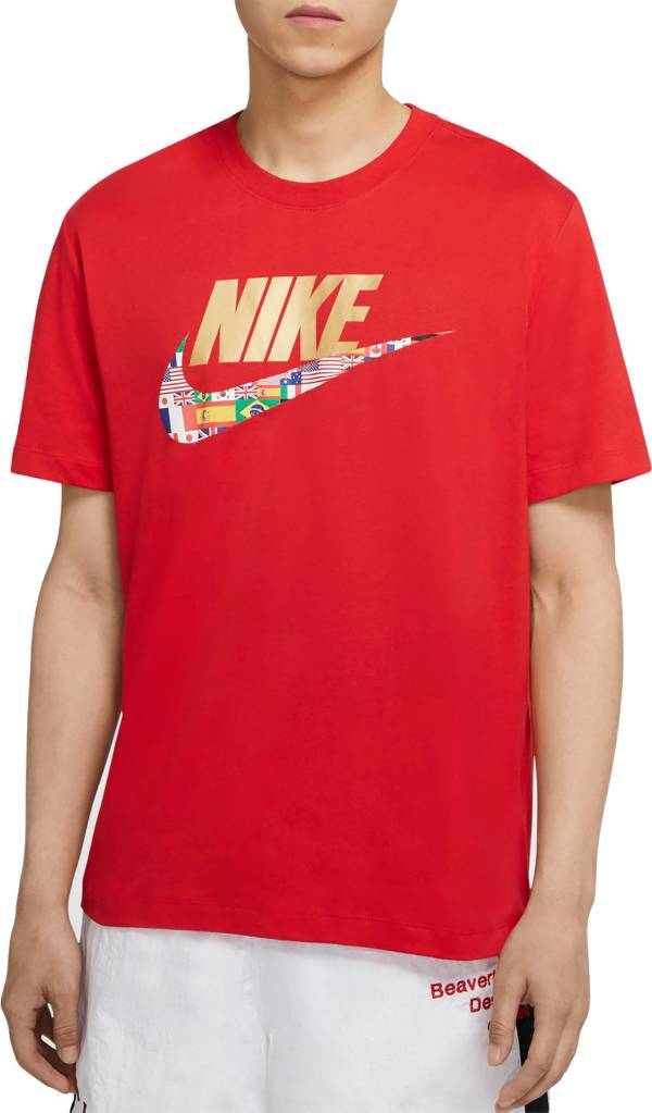 Nike Men's Sportswear Global Swoosh Graphic T-Shirt product image