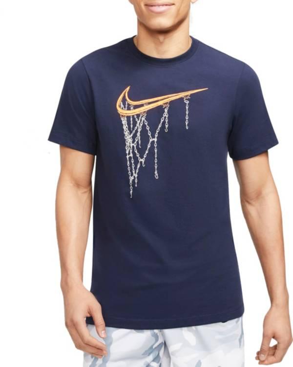 Nike Men's Swoosh Chain Net Short Sleeve T-Shirt product image