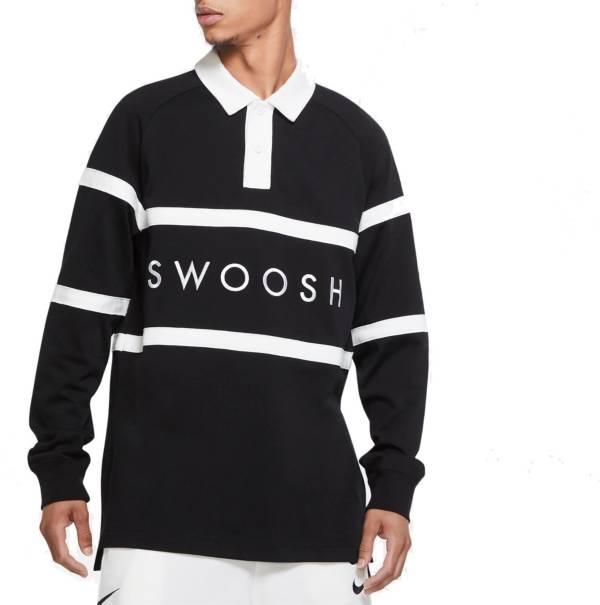 Nike Men's Sportswear Swoosh Rugby Long Sleeve Shirt product image