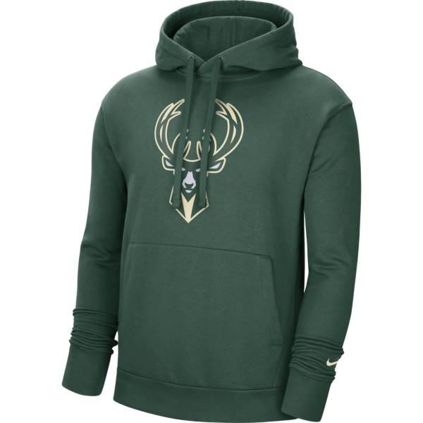 Nike Men's Milwaukee Bucks Black Pullover Hoodie product image