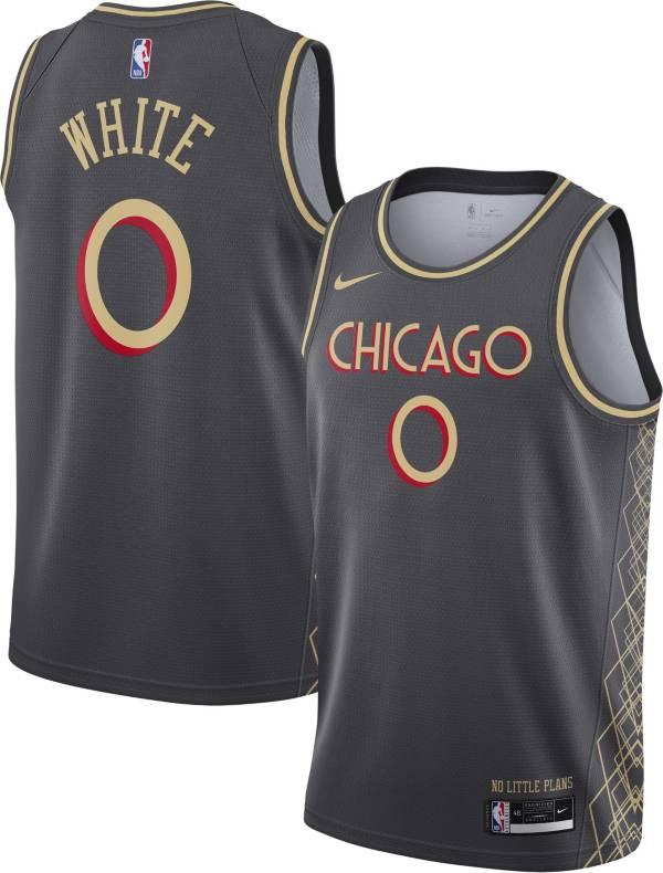 Nike Men's 2020-21 City Edition Chicago Bulls Coby White #0 Dri-FIT Swingman Jersey product image