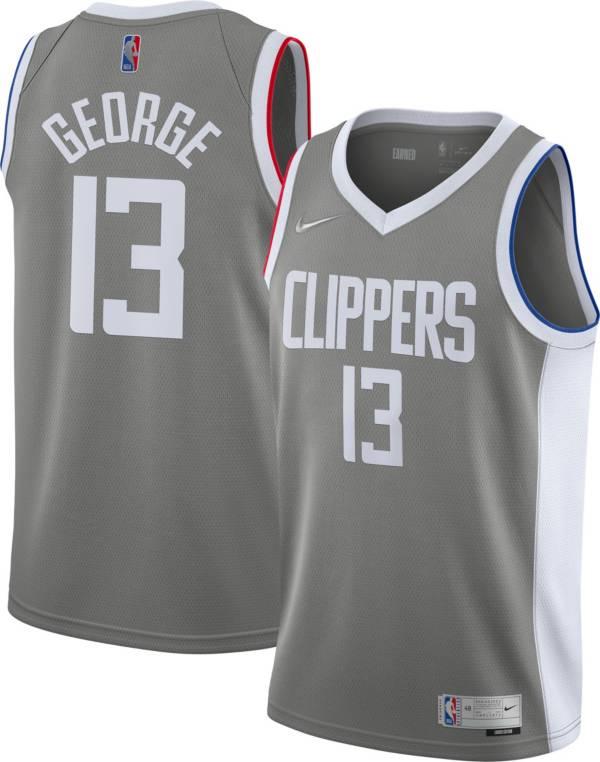 Nike Men's Los Angeles Clippers 2021 Earned Edition Paul George  Dri-FIT Swingman Jersey product image