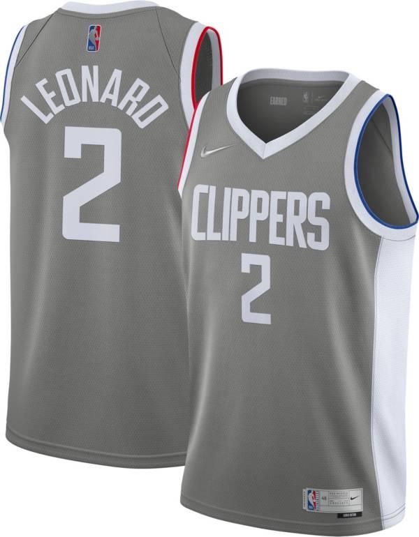 Nike Men's Los Angeles Clippers 2021 Earned Edition Kawhi Leonard  Dri-FIT Swingman Jersey product image